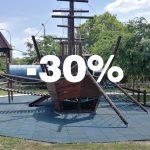 Folytatódik -30% akciós gumiburkolat kiárusítás!